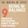 Being In Balance (Unabridged)